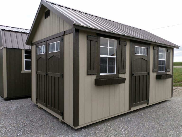 Hoosier Storage Shed Deluxe Garden Shed