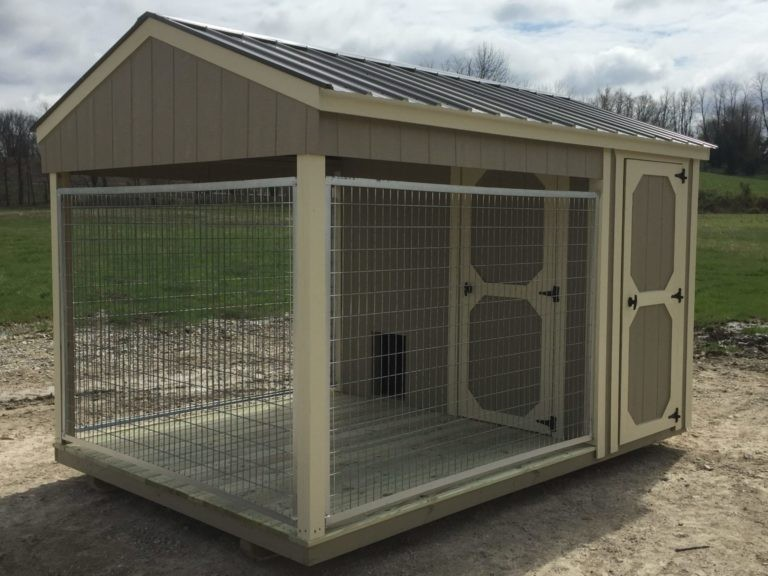Hoosier Sheds Dog kennel