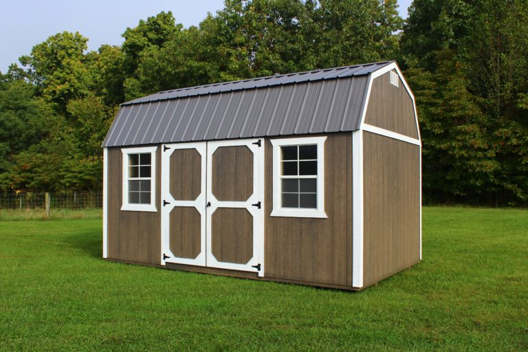 hoosier storage shed lofted garden shed