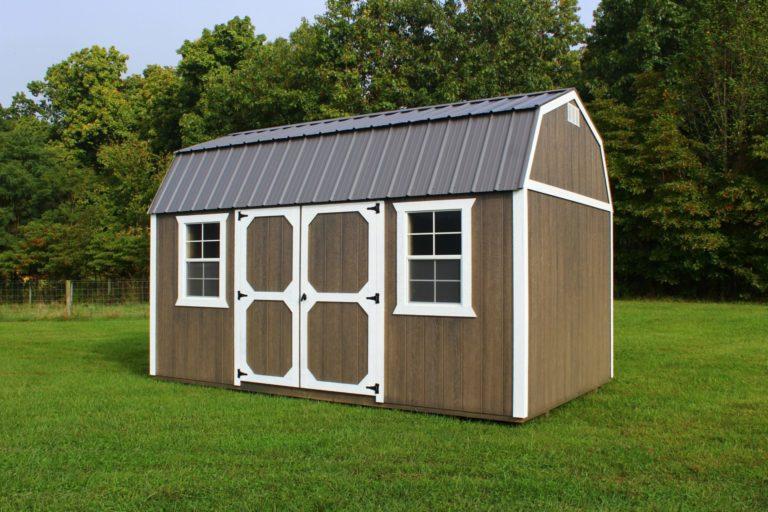 hoosier storage shed lofted garden shed