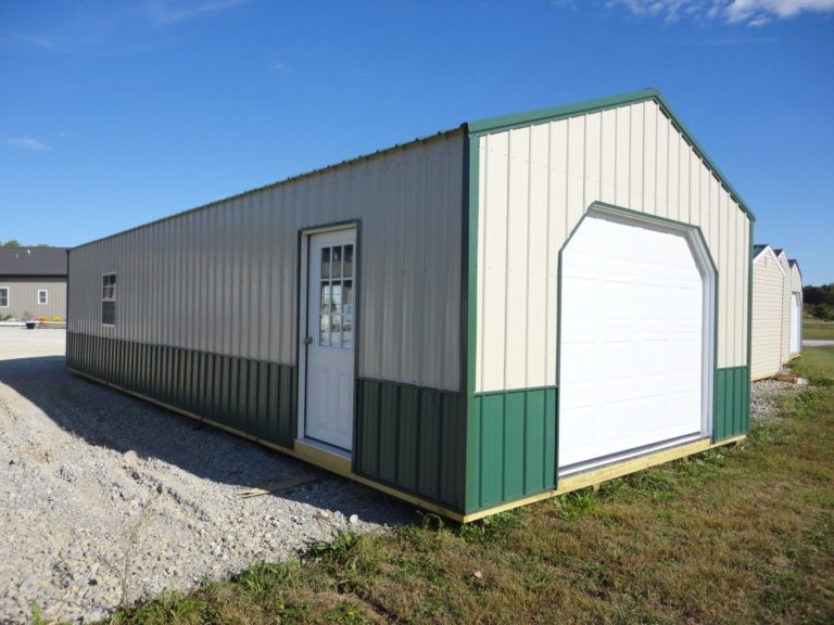 Hoosier storage shed metal garage
